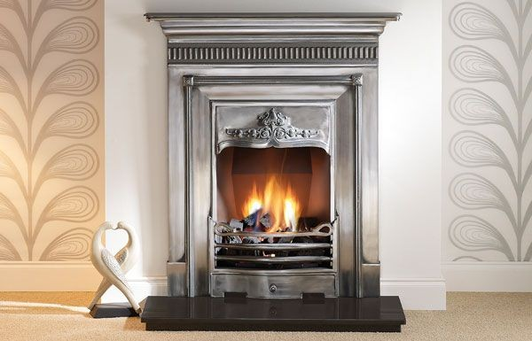 Harewood 36 Full Polished Cast Iron Fireplaces