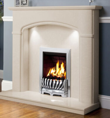 Lucien Marble and Granite Fireplaces