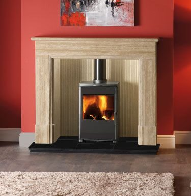 Triton 450 Glass Wood Burning Stoves