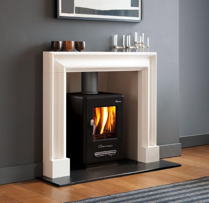 Alpine fireplace