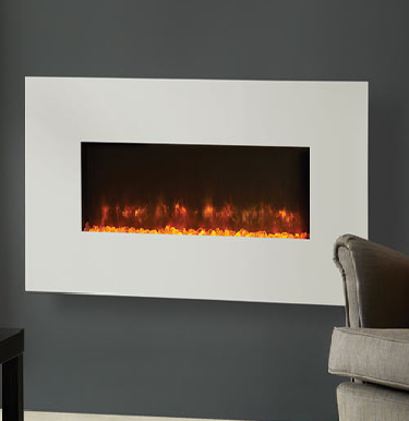 Gazco Radiance 100W Steel Electric Wall Hung Fires