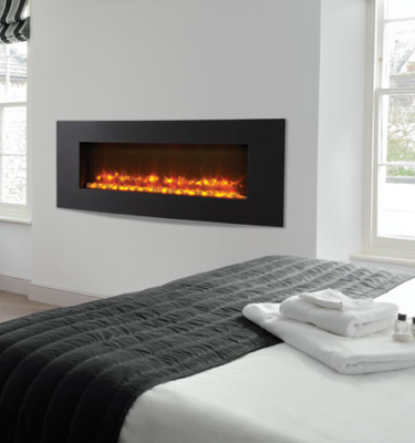 Gazco Radiance 105R inset Verve xs Electric Hole in the Wall Fires