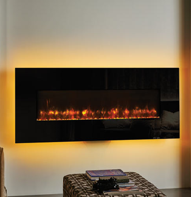 Gazco Radiance 150W Glass Electric Wall Hung Fires