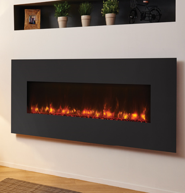 Gazco Radiance 150W Steel Electric Wall Hung Fires