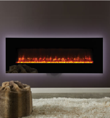 Gazco Radiance 190W Glass Electric Wall Hung Fires
