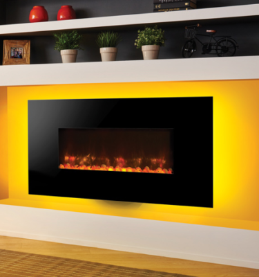 Gazco Radiance 80W Glass Electric Wall Hung Fires