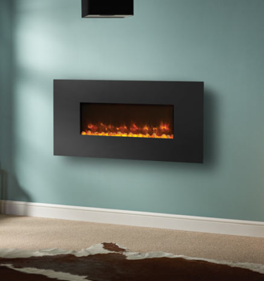 Gazco Radiance 80W Steel Electric Wall Hung Fires