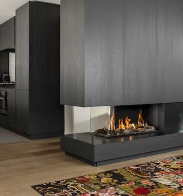 Room Divider Large Left,Right 3 Balanced Flue Fires
