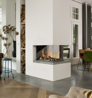 Room Divider Medium 3 Balanced Flue Fires