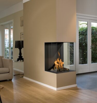 View Bell Vertical 3 Balanced Flue Fires
